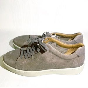 Vince | Gray Suede Sneakers Shoes Size 10